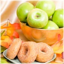 Ciambelline di mele