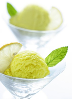 Lemon icecream