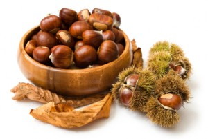 Bowl of Chestnuts castagne
