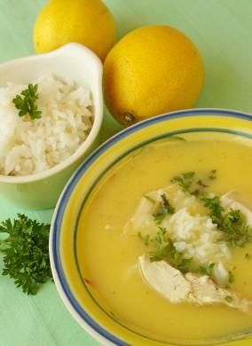 Zuppa al limone