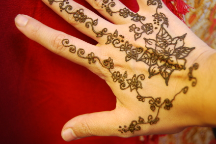 Tatuaggio all'henné