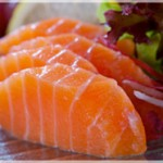 Cubetti di salmone agli agrumi