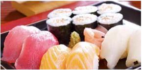Giappone: Sashimi con salmone e ravanelli