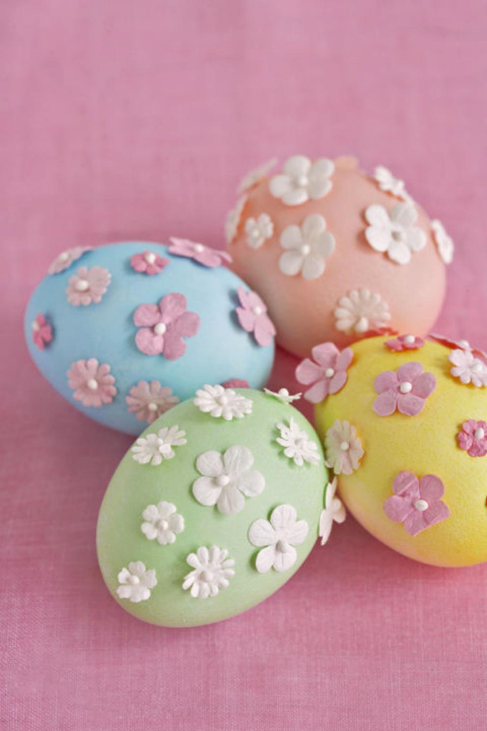 Come decorare le uova di pasqua - Decorare frigorifero ...