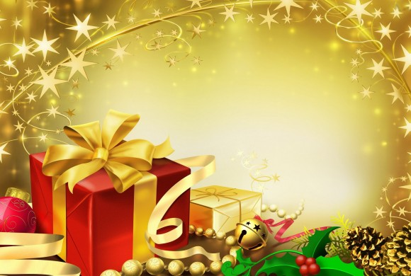 Special Christmas Gifts in Yellow