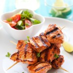 Lemon and Herbs Chicken Skewers