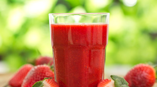 Smoothie Fragola e Anguria