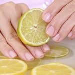 Benessere al limone: rinforzare le unghie