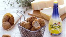 Veal Meatballs with Lemon and Marjoran