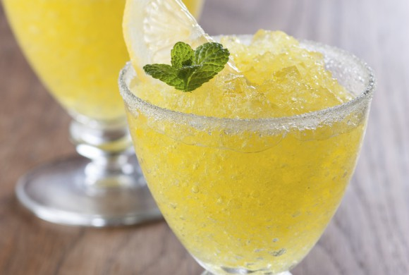 Lemon and Ginger Slushy