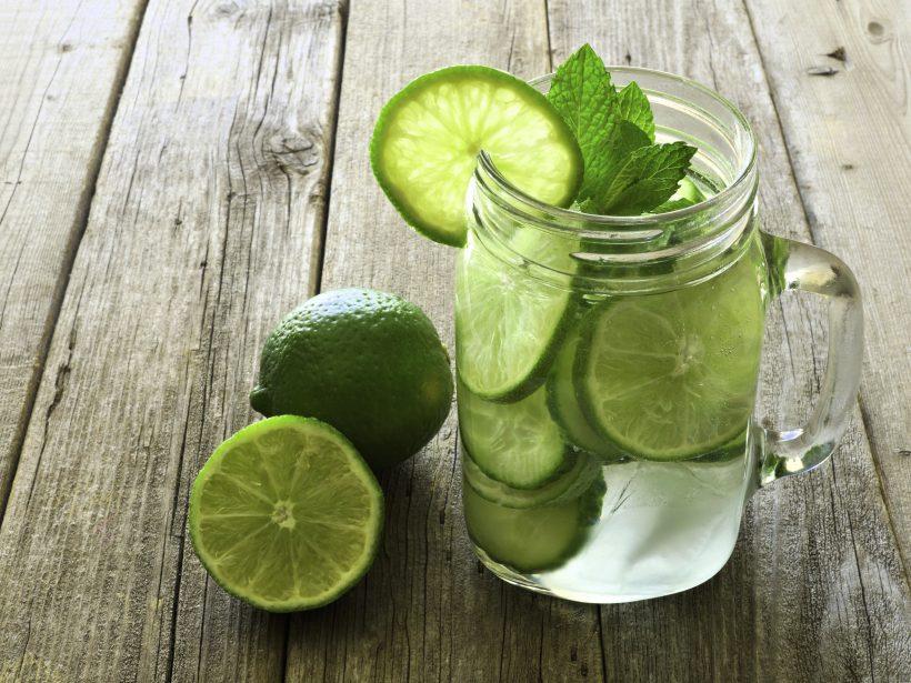 Acqua aromatizzata lime