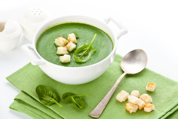 Spinach and Lemon Soup