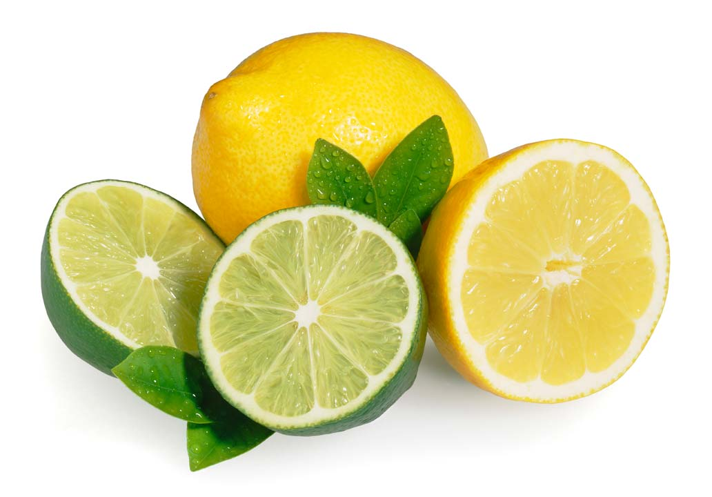 Lemon and lime juice
