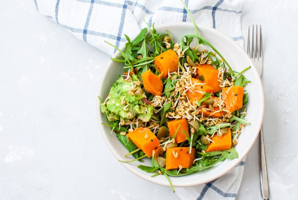 Spice Glazed Carrots Salad