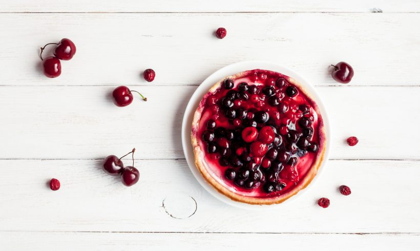 Lemon & Cherry Tarts