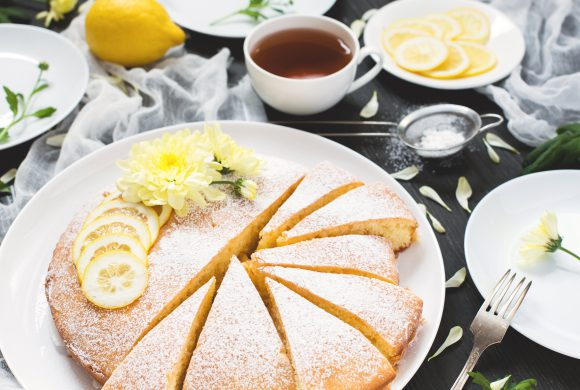 Grandma's Lemon Cream Cake