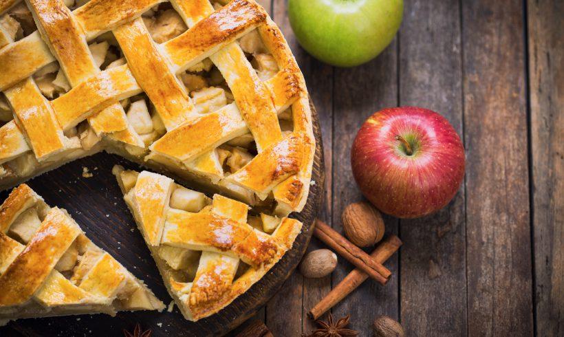 Crostata di mele e fichi