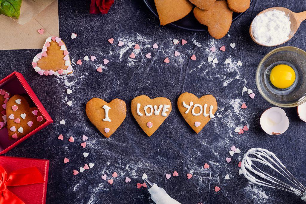 biscottini a forma di cuore