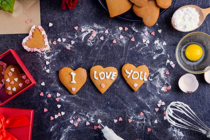Heart-Shaped Lemon Cookies