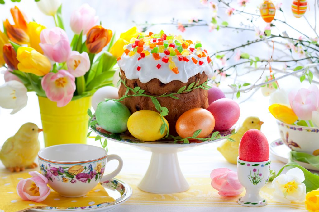 Kulich- easter cake
