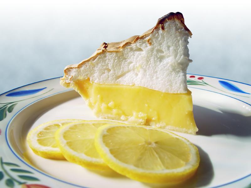 old fashioned lemon meringue pie