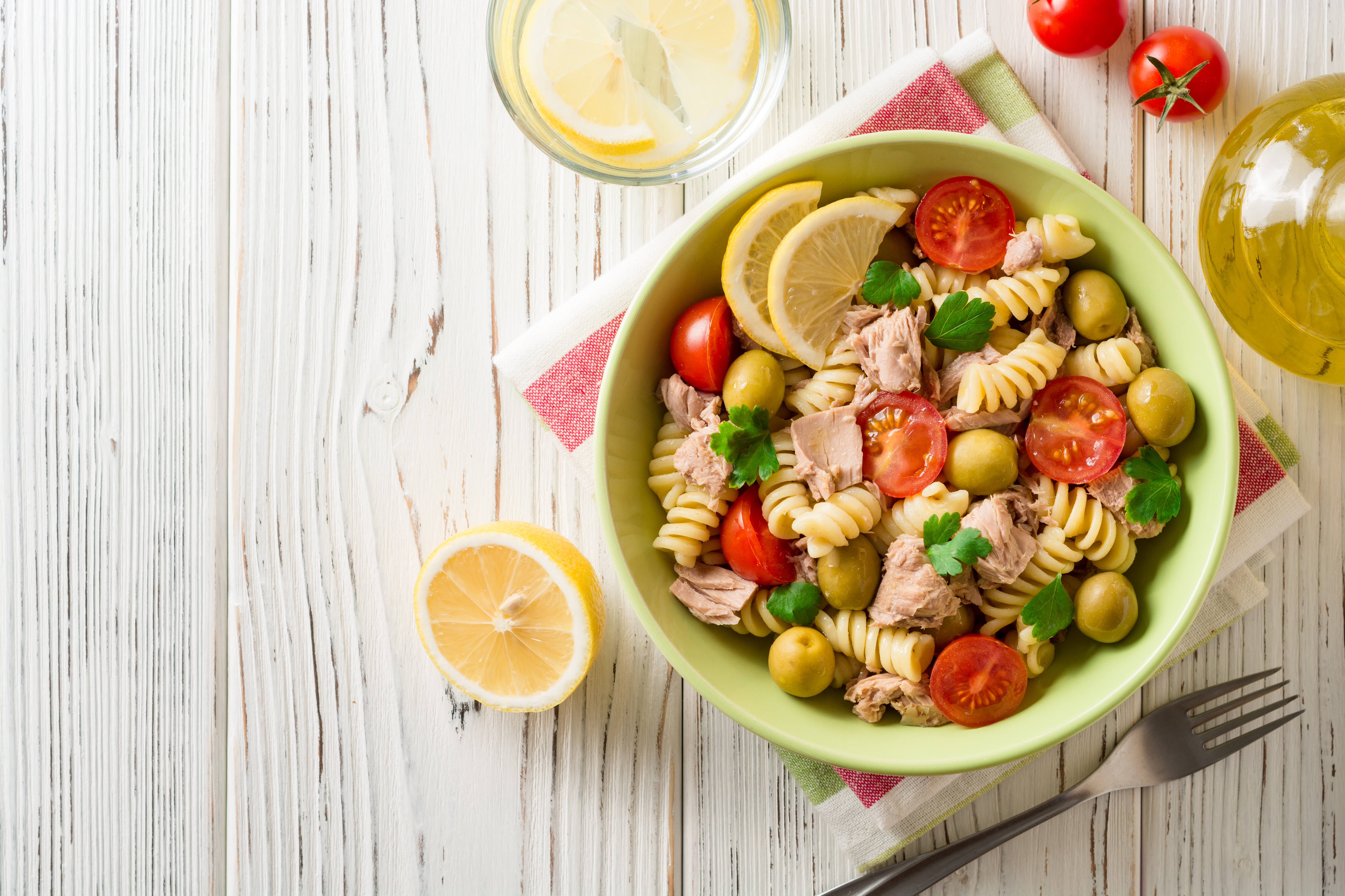 lemon & Tuna pasta