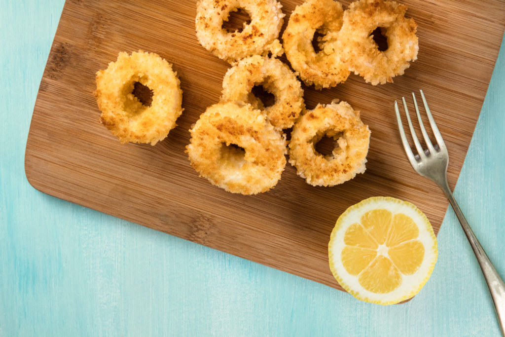 anelli di totano con limone