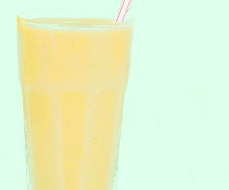 Orange, Lemon, Banana and Ginger Shake