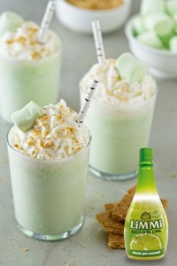 key lime milkshake+LIME