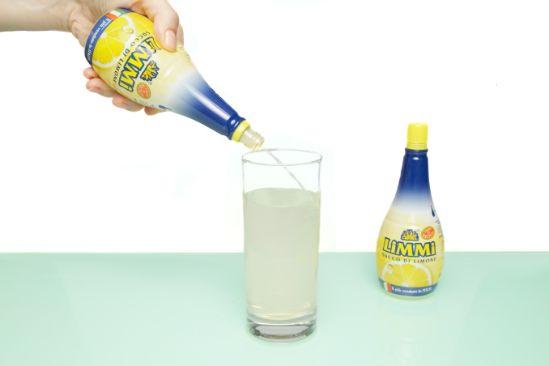 Aggiungi il succo di limone Limmi
