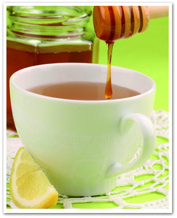 Acqua, miele e limone