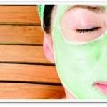 Impacco purificante viso per pelle impura al limone e cetriolo