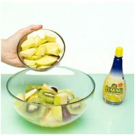 aggiungi kiwi e mele