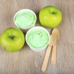 Sorbetto alla mela verde e limone