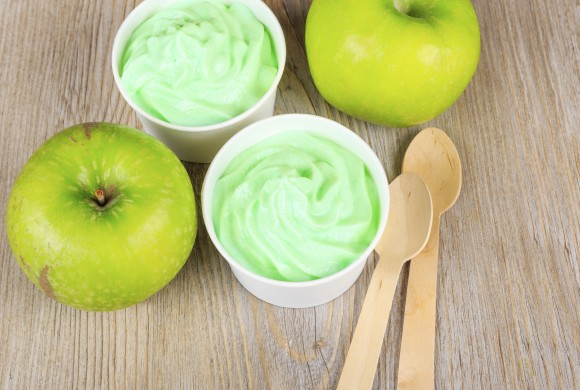 Green Apple and Lemon Sorbet