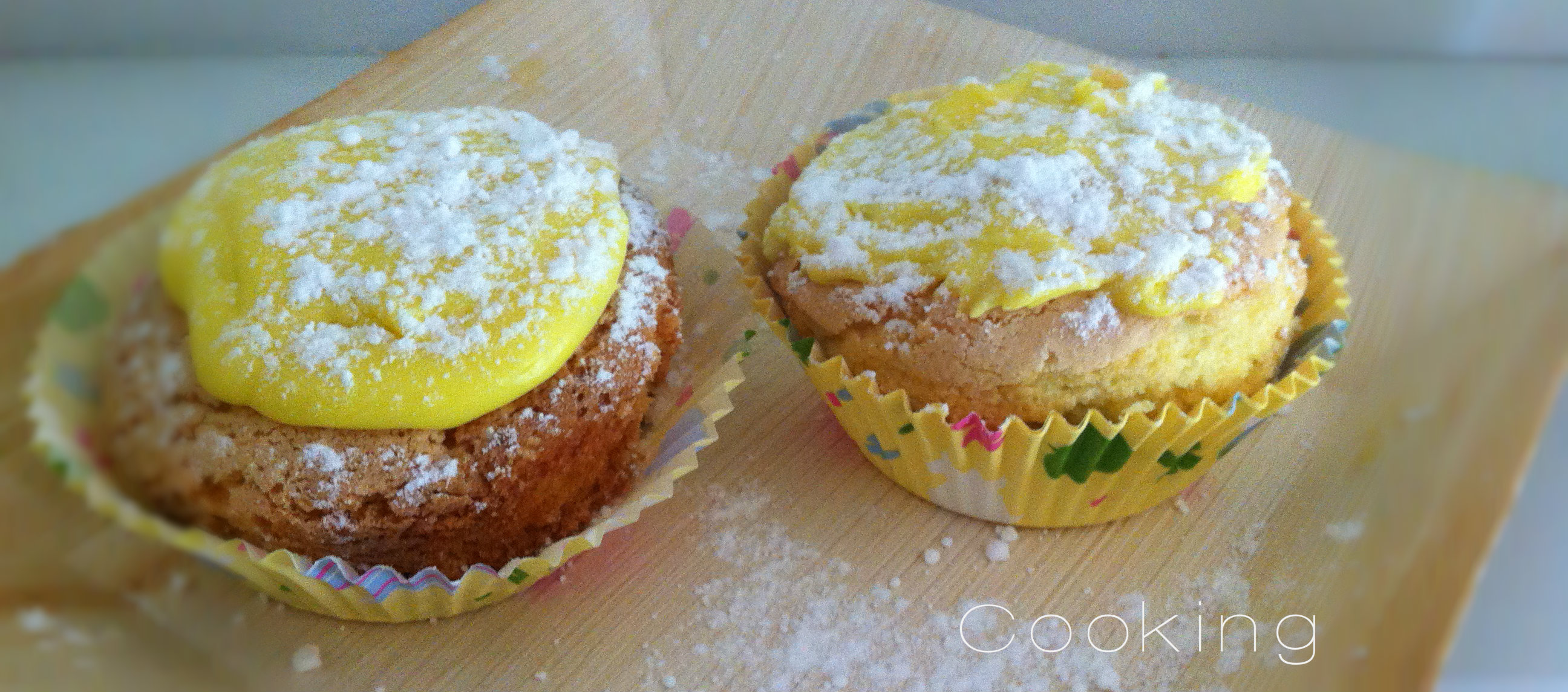 muffin al limone