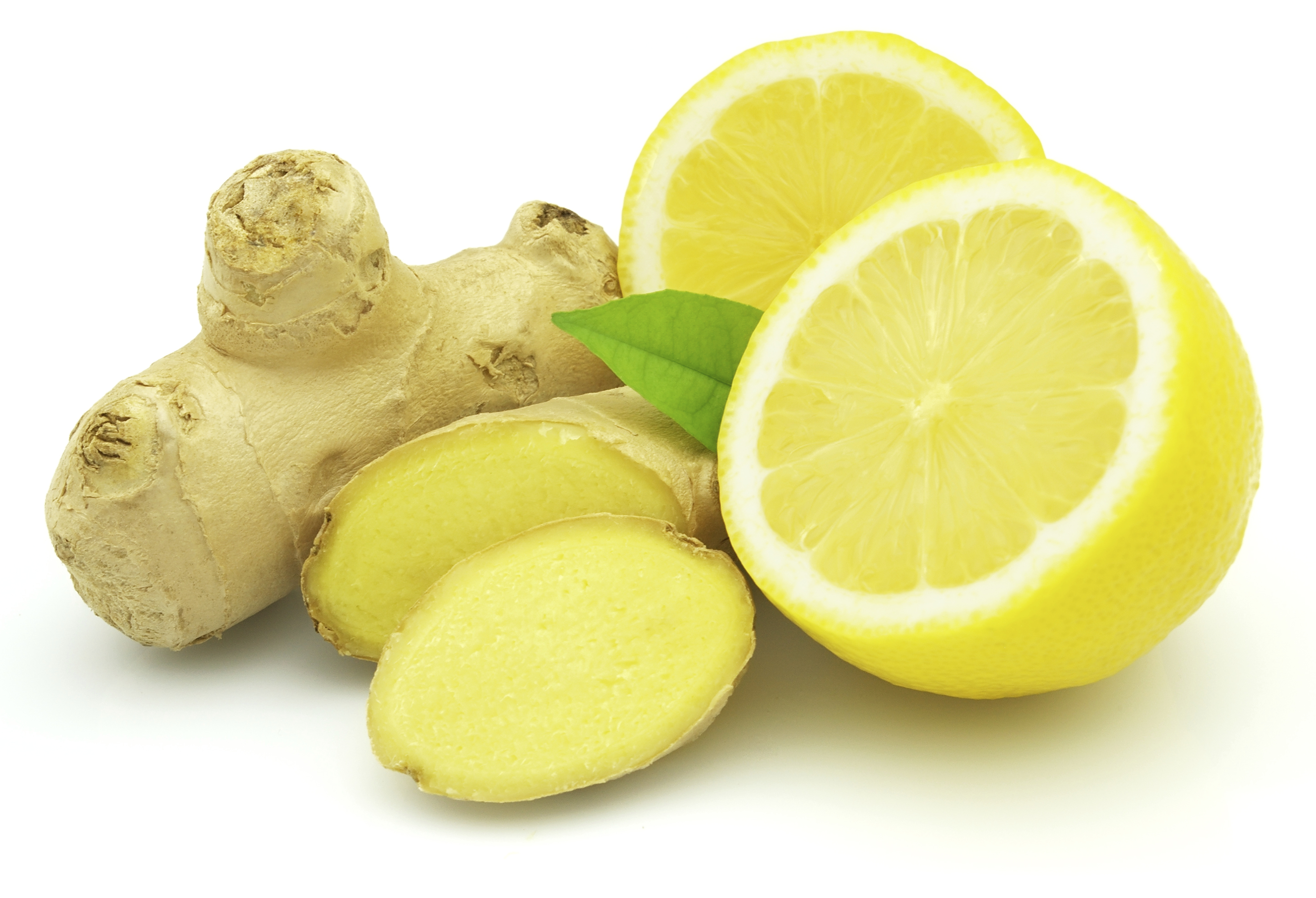 Zenzero e succo di limone