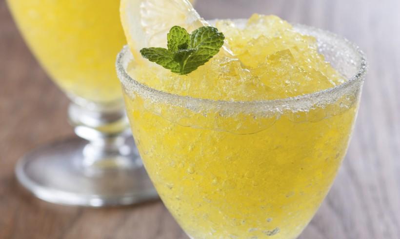 Granita al limone e zenzero