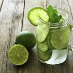 Lime, Mango and Mint Flavoured Water