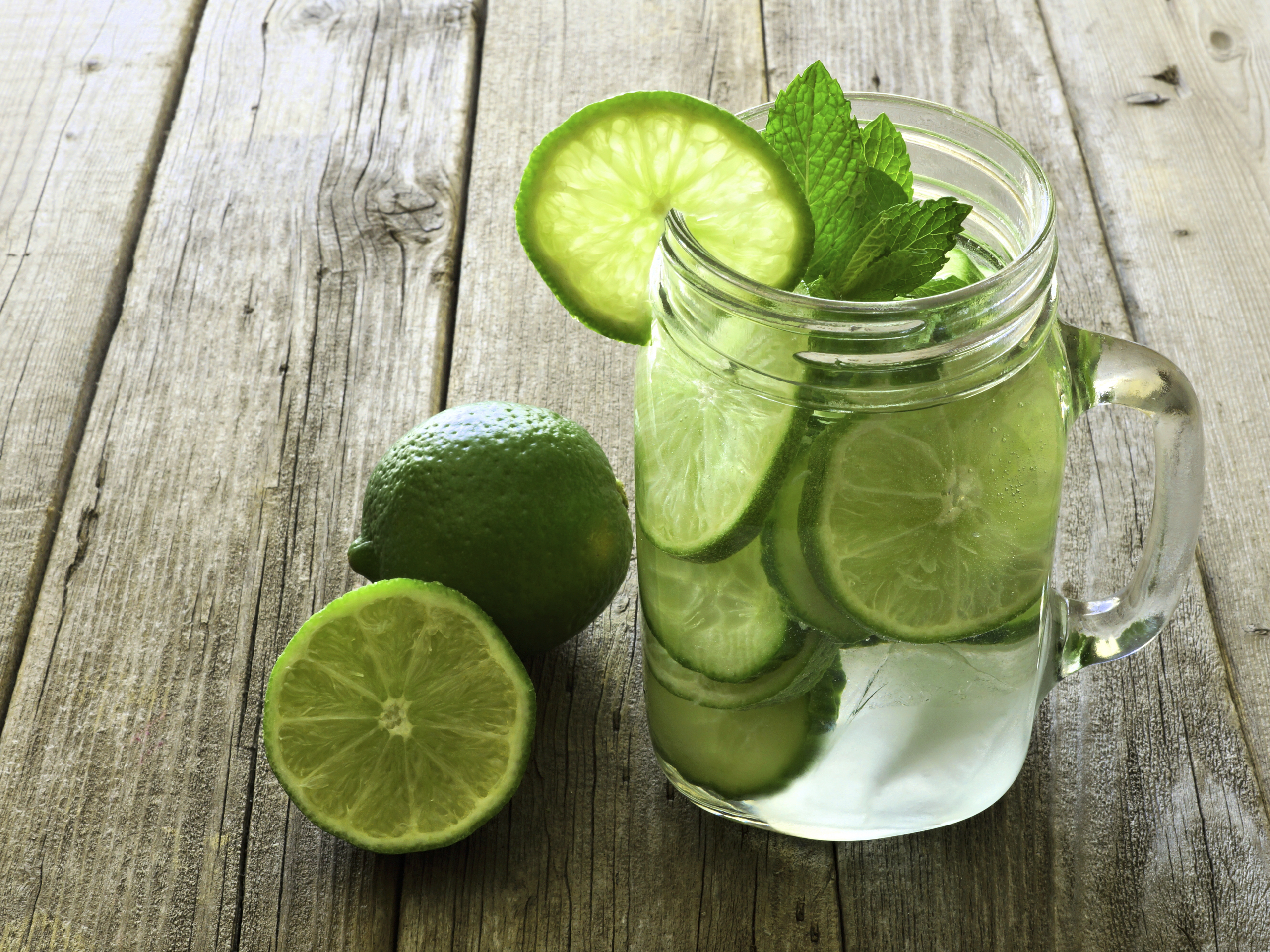Lime Flavoured Water