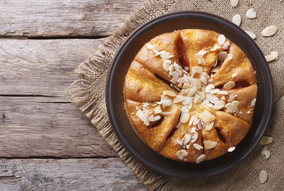 Pears, Almonds and Lemon Cake