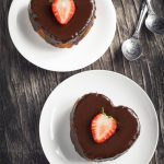 Heart-Shaped Chocolate and Lemon Pie