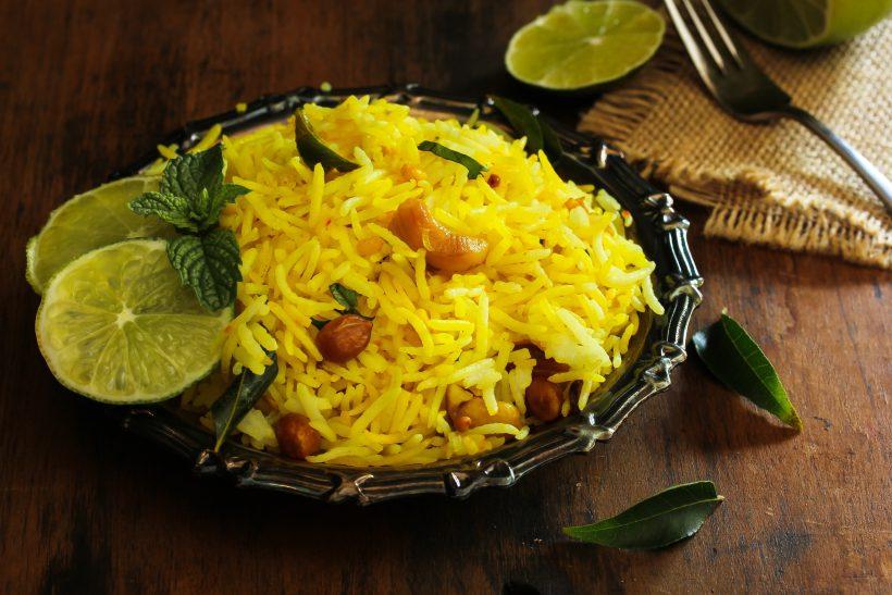 Riso indiano al limone