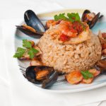 Seafood Risotto With Lemon