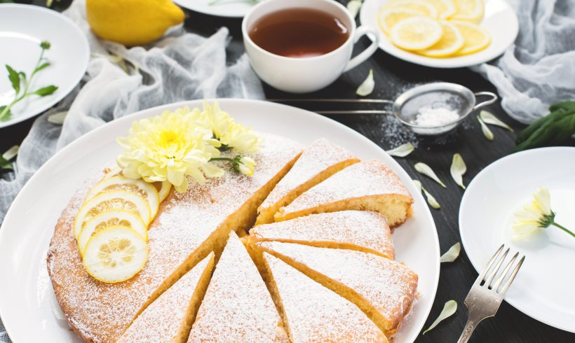 Grandma's Lemon Cream Cake