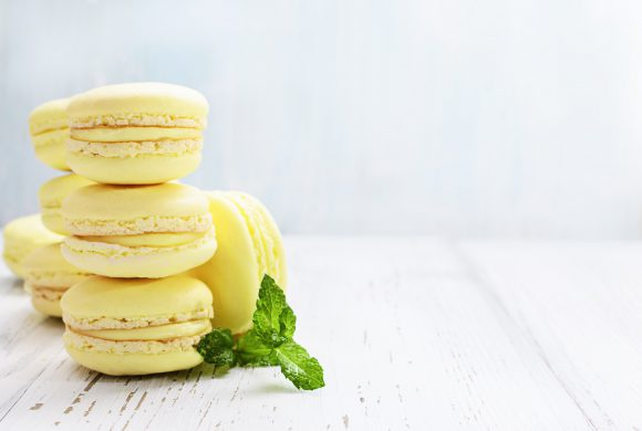 Francia: Macaron al limone