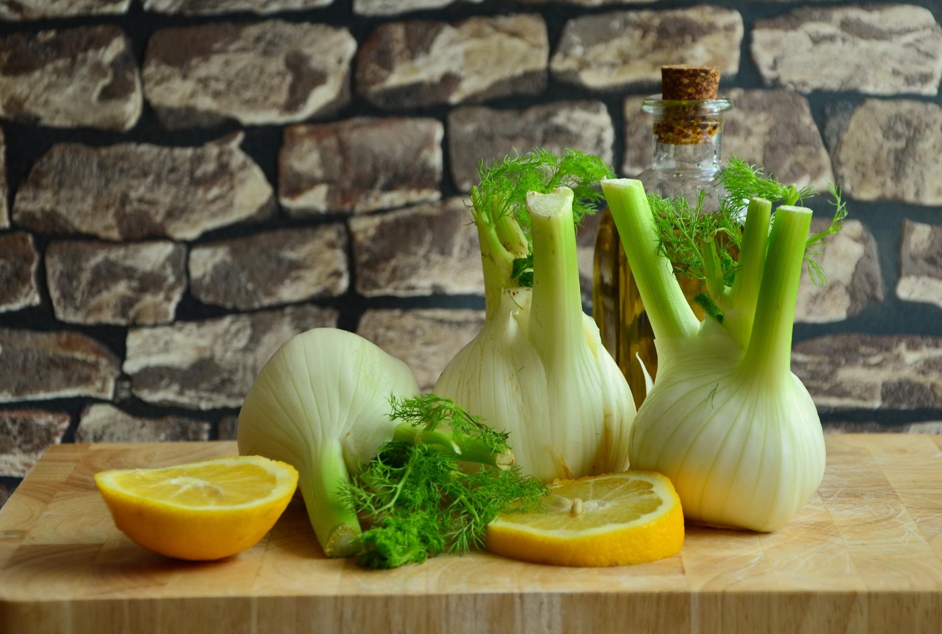 fennel & lemon