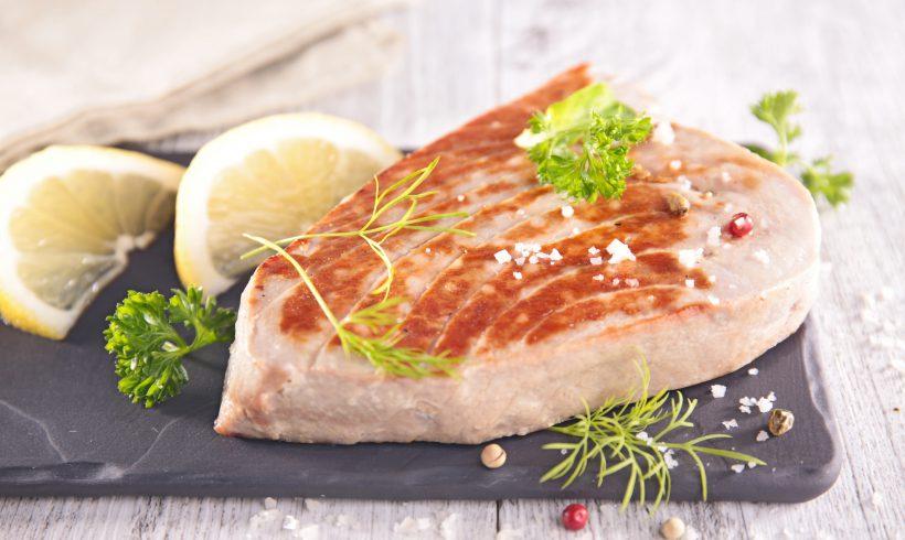 Lemon Tuna Steak