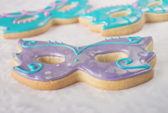 Lemon Carnival Cookie Masks