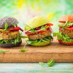 Spinach Hamburger